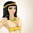 Illustrated Cleopatra — Stock Vector #9140658
