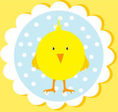 Cute easter card — Stock Vector