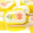 Royalty-Free Stock Photo: Sushi isolation on white