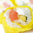 Sushi isolation on white — Stock Photo #10281215