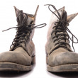 Stock Photo: Old military boots