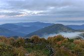 Cenário de montanha nos cárpatos — Foto Stock