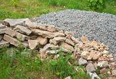 Heap of stones — Stock Photo