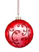 Bola navidad roja hermosa — Foto de Stock