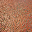 Stock Photo: Brick walkway