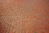 Brick walkway — Stock Photo
