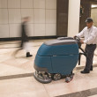 Cleaning floors — Stock Photo
