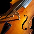 Cello or violoncello — Stock Photo