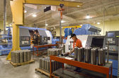 Machine shop — Stock Photo