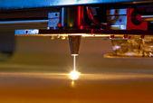 Laser-cutter — Stockfoto