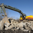 Stock Photo: Excavator or shovel