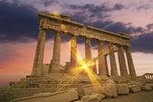 świątynia grecka — Zdjęcie stockowe