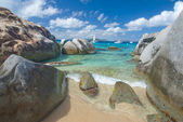 The Baths on Virgin Gorda, — Stock Photo