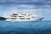Charter yacht — Stock Photo