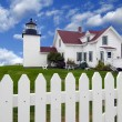 Fort Point Lighthouse — Stock Photo