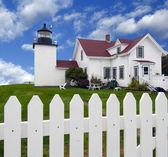 Fort Point Lighthouse — Foto de Stock