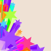 Abstract Stars Background As Colorful Vibrant Backdrop — ストック写真