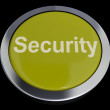Stock Photo: Security Button Showing Privacy Encryption And Safety