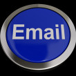 Stock Photo: Email Button In Blue For Emailing Or Contacting