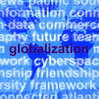 Globalization Word On Map Showing International Business — Stock Photo #10446771