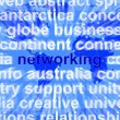 Networking Word Over World Background Showing Relationships And — Stock Photo #10447070