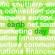 Stock Photo: Earth Day Words Showing Environmental Concern And Conservation
