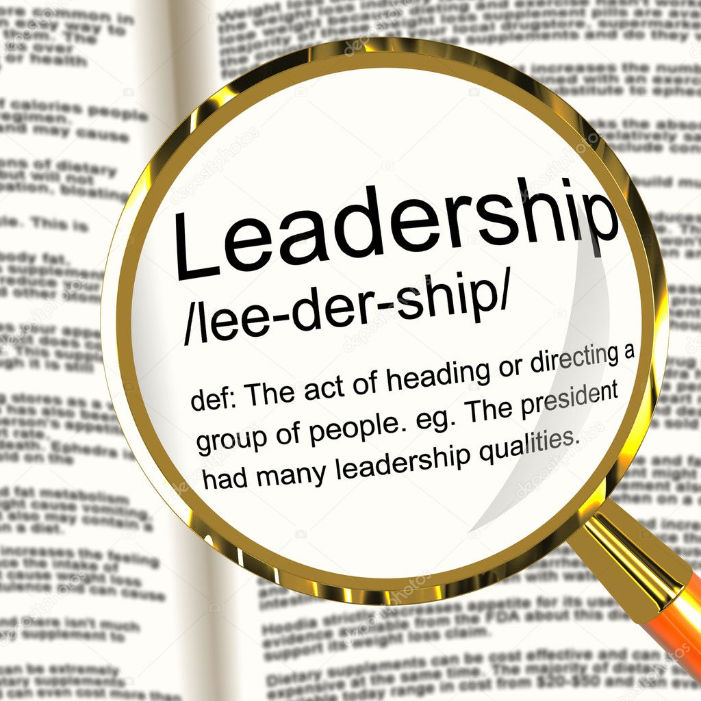 Definition of leadership by maxwell