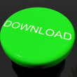 Download Button As Symbol For Downloading Or File - Stock Photo
