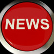 Icon Or Button Showing The Text News For Information Or Media - Stock Photo