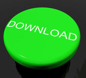 Download Button As Symbol For Downloading Or File — Stock Photo