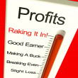 Business Profits Very High Showing Rising Sales And Income - Stock Photo