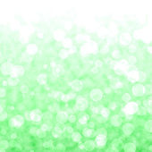 Bokeh Vibrant Green Background With Blurry Lights — Stock Photo