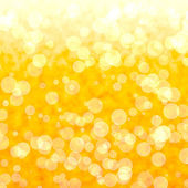 Bokeh Vibrant Yellow Background With Blurry Lights — Stock Photo