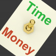 Time Money Switch Showing Hours Are More Important Than Wealth - Stock Photo