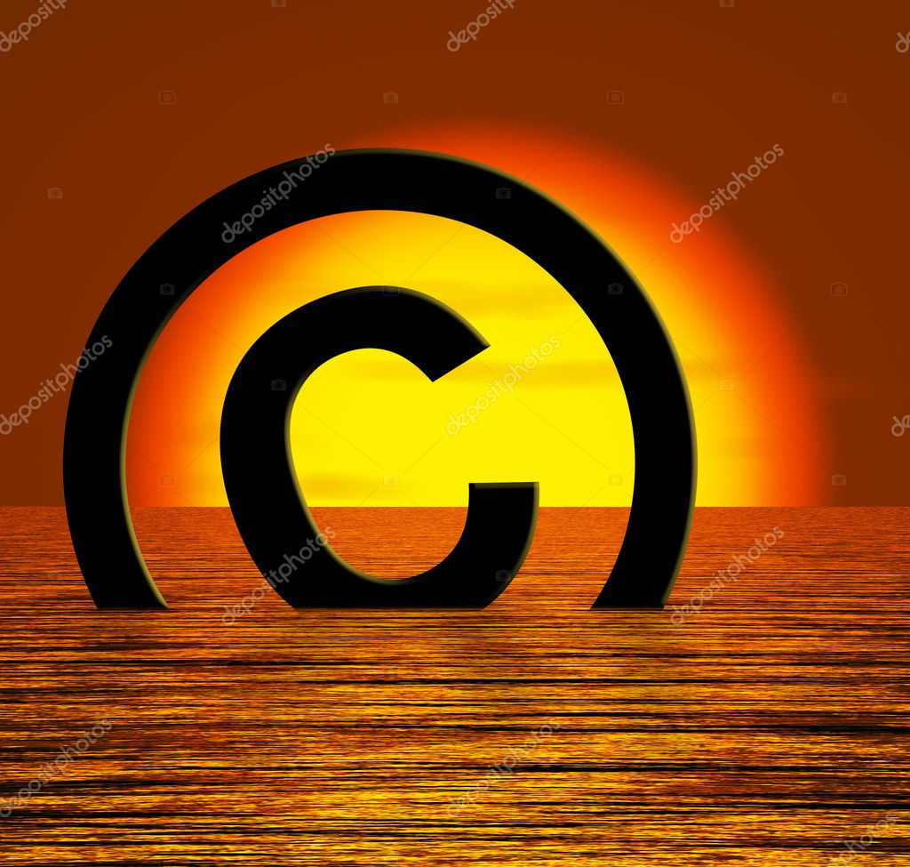 how to write copyright symbol in facebook