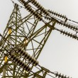 Stock Photo: Power line angle shot