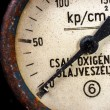 Old pressure gauge — Stock Photo