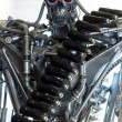 War machine with red eyes — Stock Photo #10459354