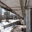 Постер, плакат: Abandoned residental architecture in Pripyat 2012