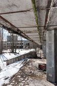 Abandoned residental architecture in Pripyat, 2012 — Stock Photo