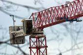 Big industrial crane — Стоковое фото