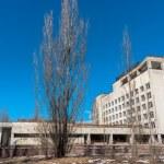 Постер, плакат: Hotel Polesie in chernobyl area Pripyat