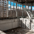 Empty swimming pool in Chernobyl — Foto Stock
