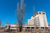 Hotel polesí v černobylské oblasti, pripjati — Stock fotografie