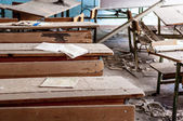 Verlassene Schule in Tschernobyl-14. März 2012 — Stockfoto