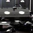 Old VHS tapes ripped apart — Stock Photo #8084754