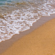 Photo of waves on the beach — Stock Photo