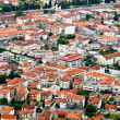 Aerial view of a village with small houses — Stock Photo #8801809