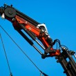 Pneumatic industrial crane — Stock Photo
