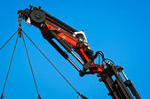 Pneumatic industrial crane — Stockfoto